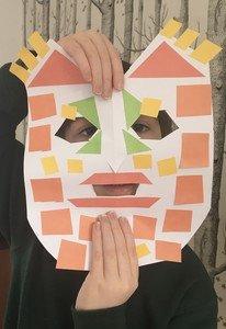 Charlie's Mayan mask