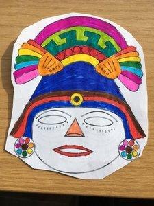 Christa's mask