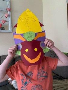 Ralph's Mayan mask