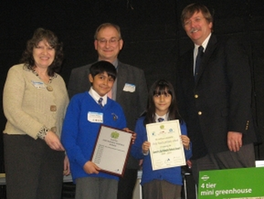 Winners of the Sustainable Schools Award