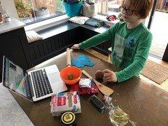 Jacob making...