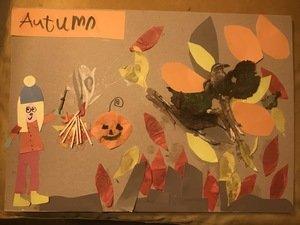 Edie's Autumn collage