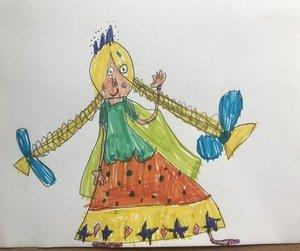 Edie's Princess from the Twelve Dancing Princess'