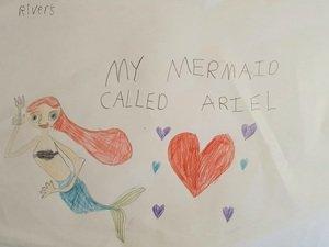 River's Ariel drawing