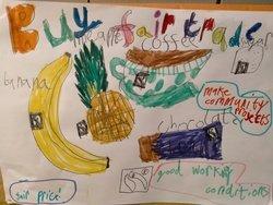 Edie's Fairtrade poster