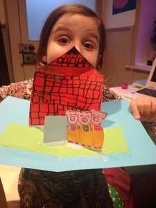 Sophia's pop-up picture