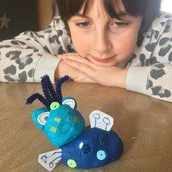 Charlie's Blue Frog