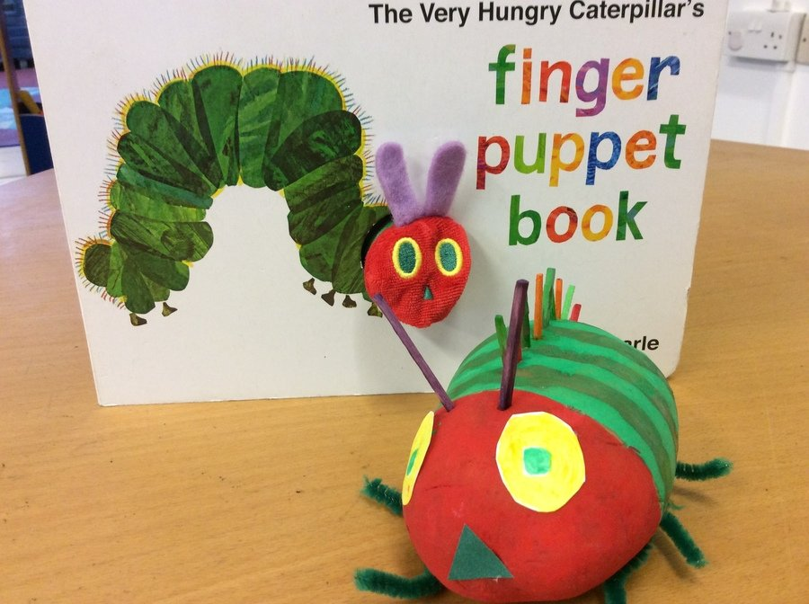 My potato character is The Very Hungry Caterpillar. I look forward to seeing your characters.