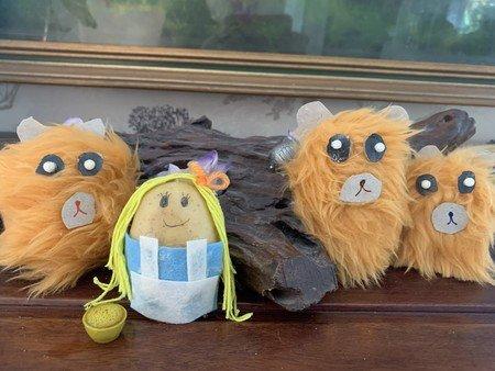 Goldilocks and the 3 Bears by Leena.