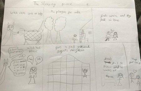 The Sleeping Prince by Leena.