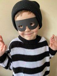 Ralph dressed as Burglar Bill