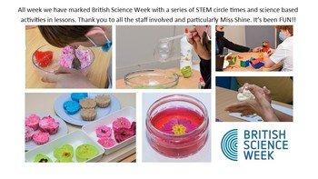 British Science Week at Chessbrook