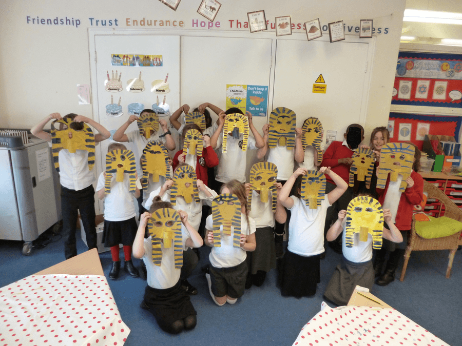We had great fun learning about King Tut!