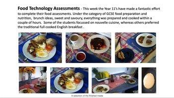Food Technology - Brunch ideas