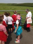 A village history tour led by a local history expert!