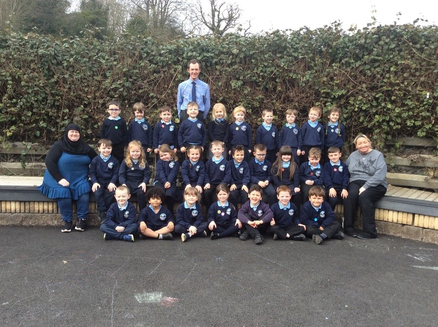 Mrs Byrne's and Mr Ireland's lovely class 2020-21