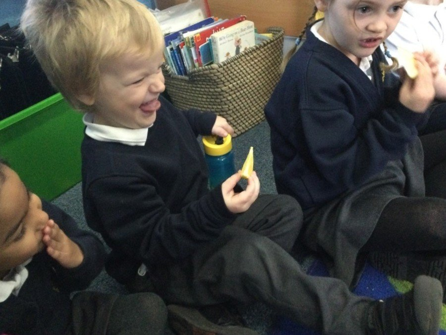 """Provide a wide range of experiences to introduce and develop our vocabulary! """"Erugh it is bitter!"""""""