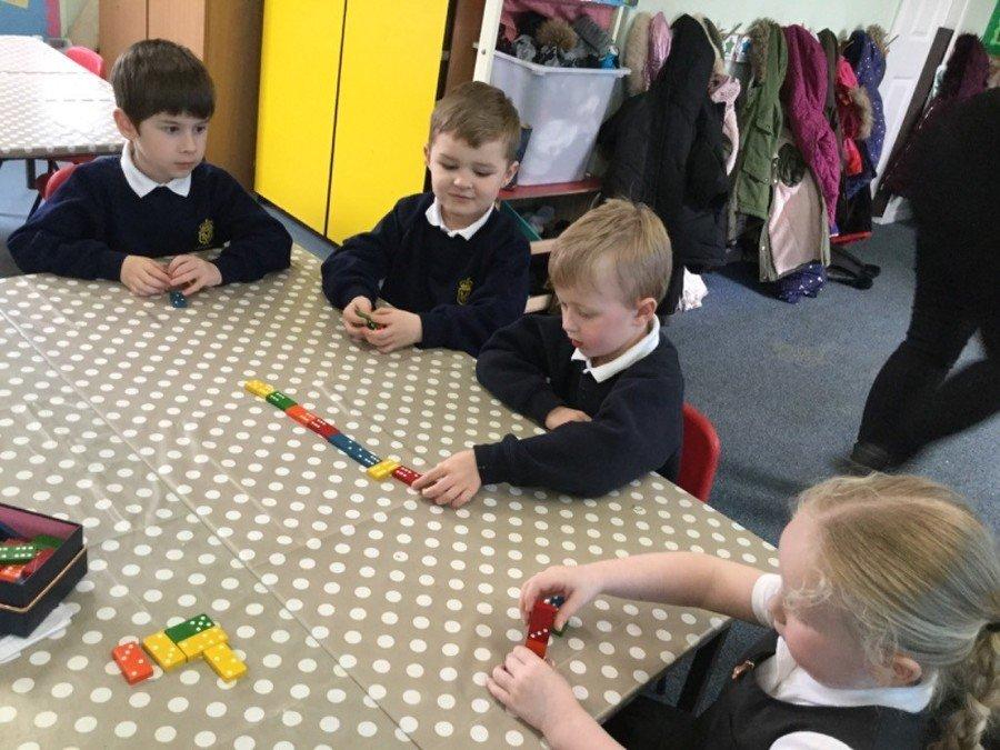 Applying Maths skills through group games
