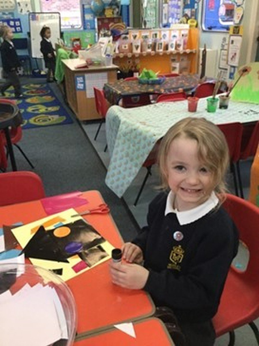 Our learning tems from the children's interests