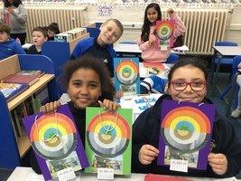 Our rainbow calendars