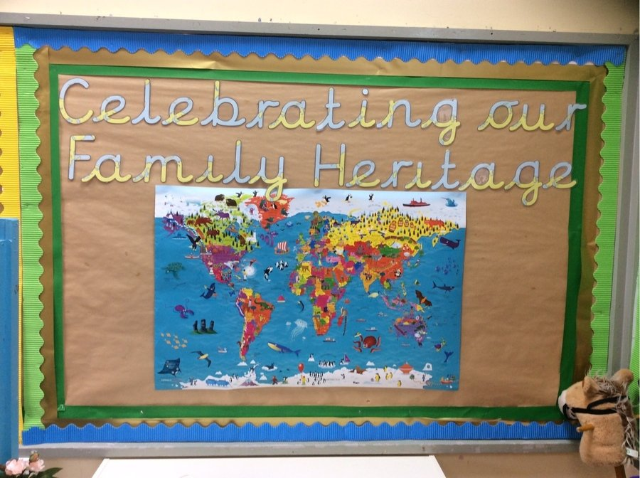 Where do your family hail from? We are celebrating the diverse and rich heritage of our children.