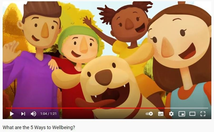 The 5 Ways to Wellbeing Video