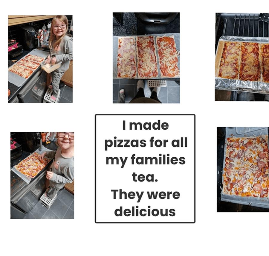 Pizzas for Tea