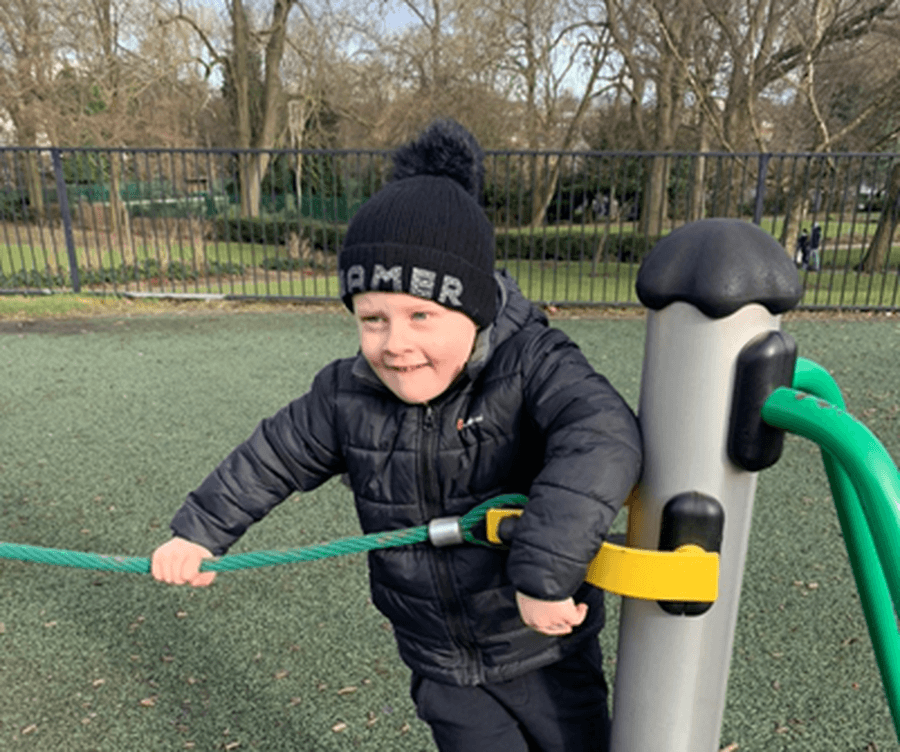 being active in the Park