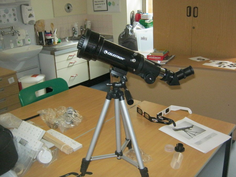 Our telescope kindly donated by Scopes4SEN