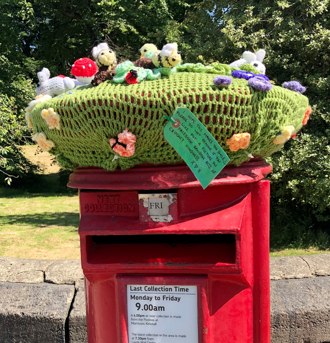 post Box Kirkstall