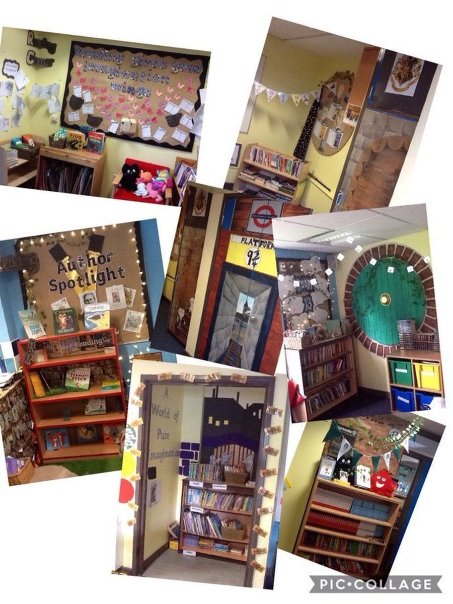 our wonderful Reading Corners
