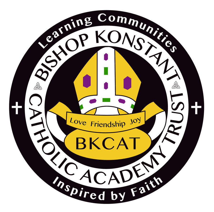 This is the 'Bishop Konstant Catholic Academy Trust' Logo