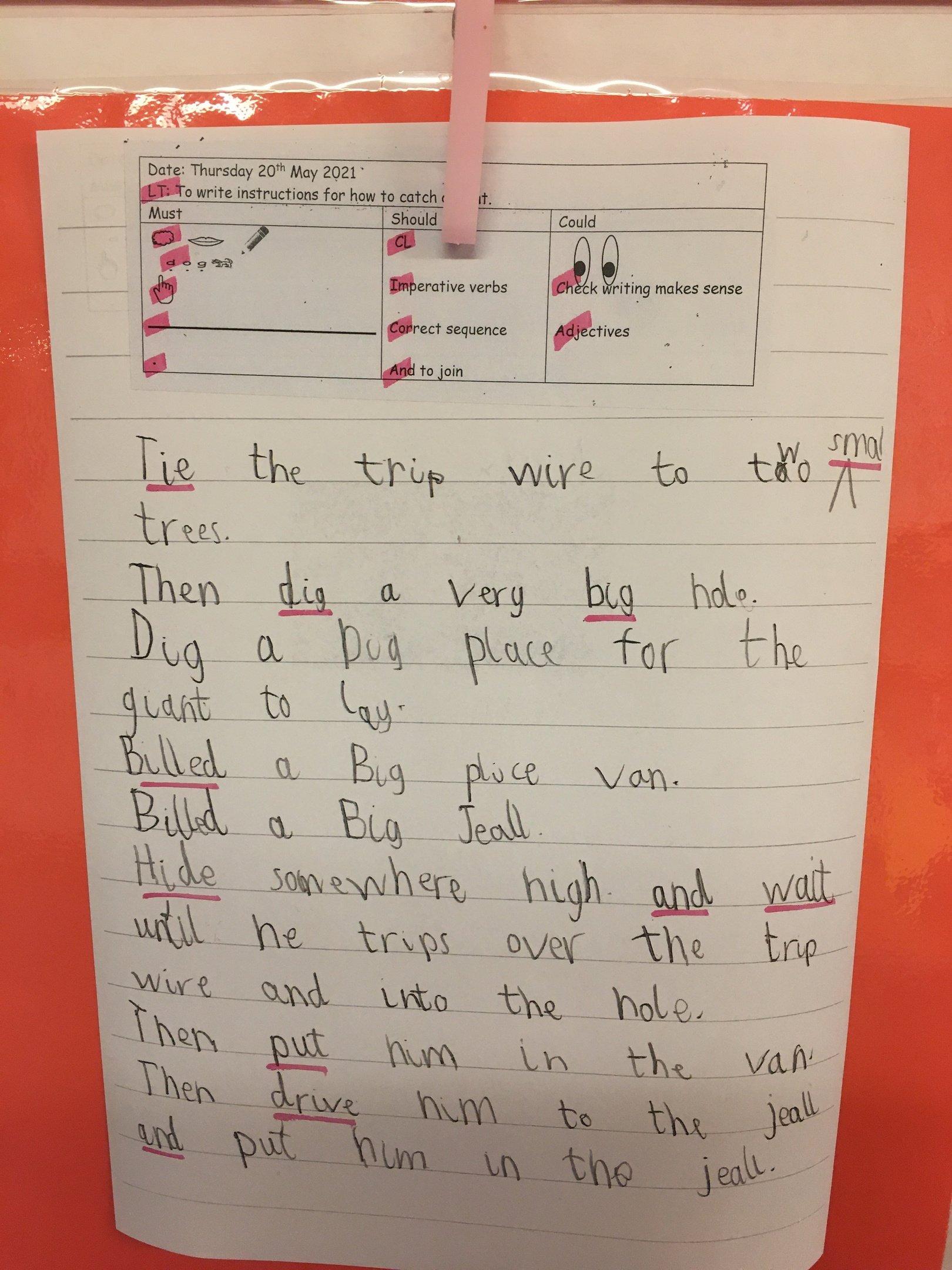 Infant Writing 2