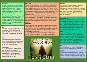 Robin Class (Year 2)