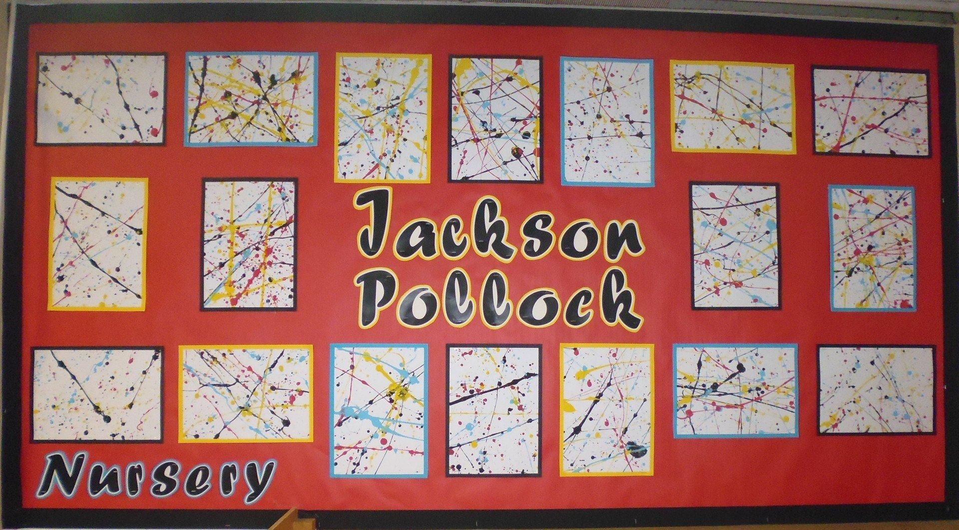 Nursery Artwork of Pollock