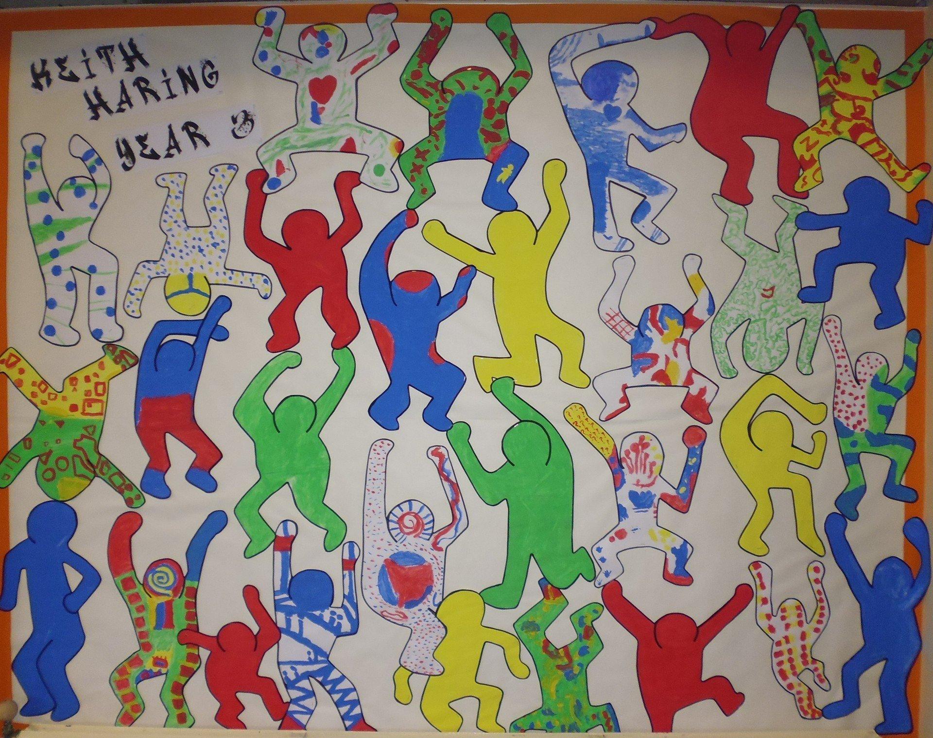 Year Three Artwork Keith Haring