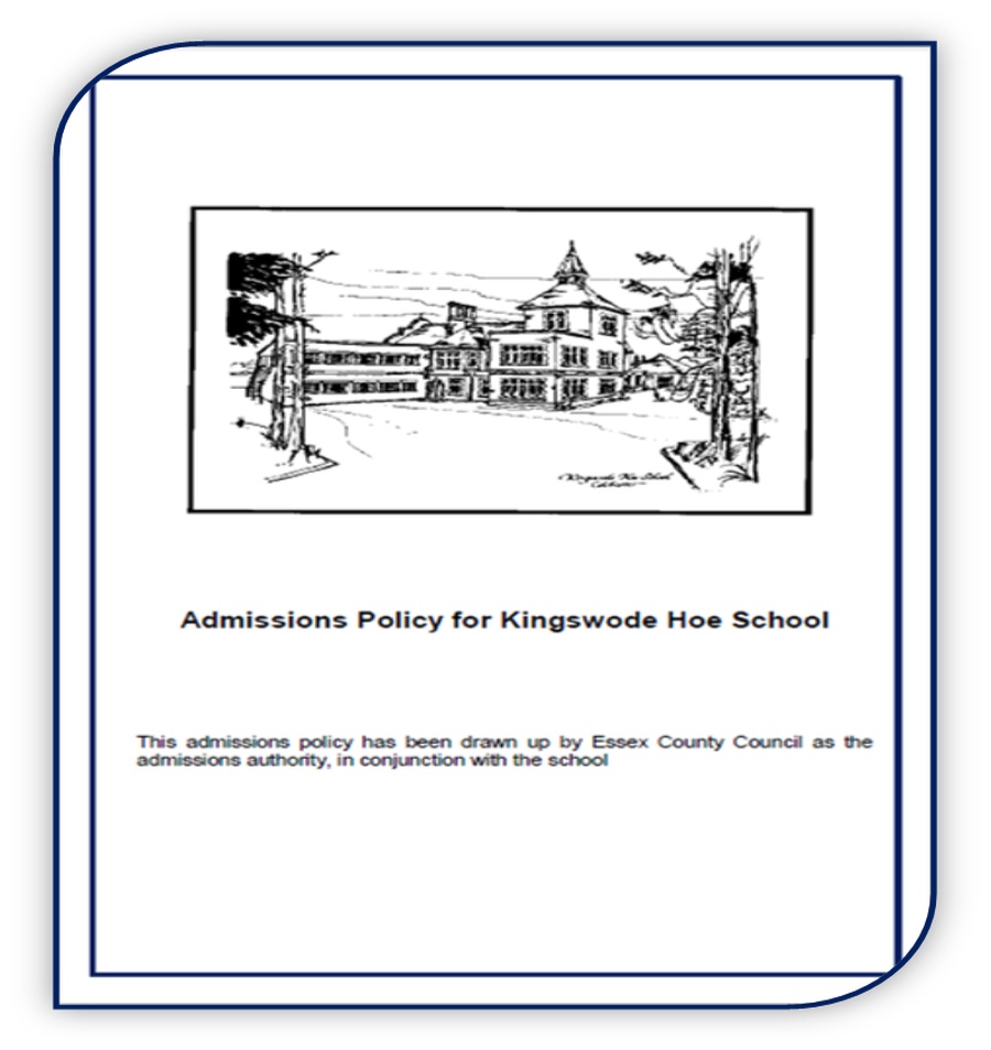Kingswode Hoe School Admissions Policy