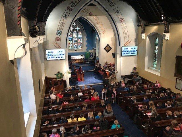 Welcome Worship in Church