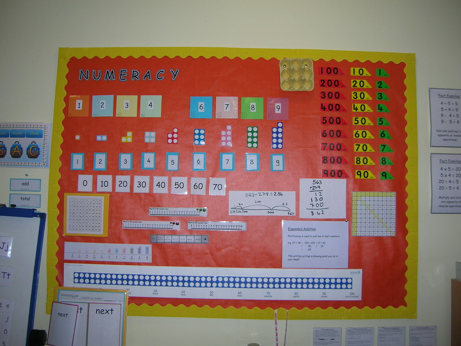 Numcion is used all through the school, not just in the Learning Centre.