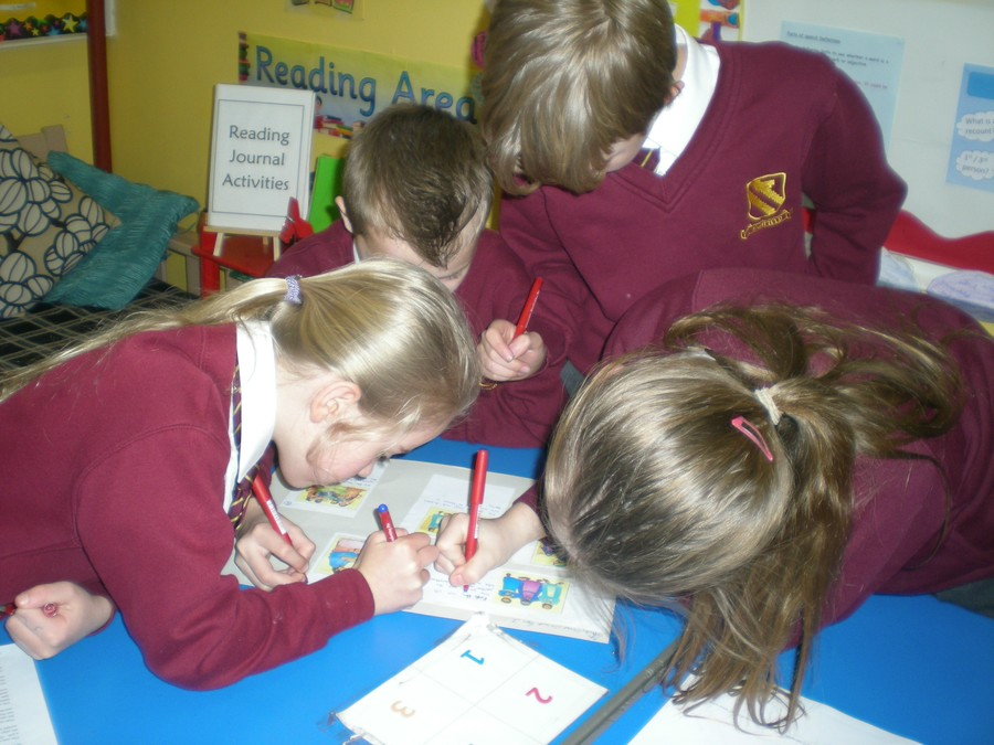 Developing teamwork skills through solving problems