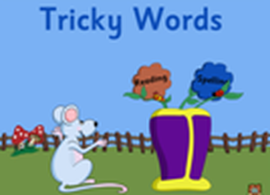 Click on the picture above for tricky words that we will be learning