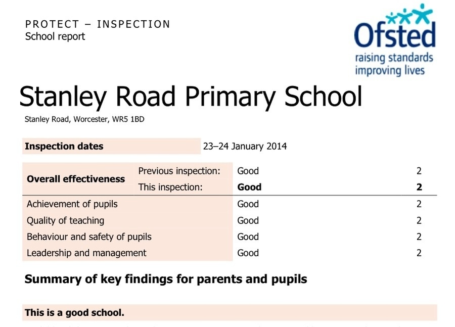 Click here to go to the Ofsted website