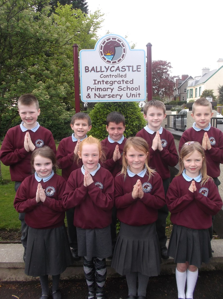 Pupils from our P4 class prepared for their First Holy Communion on Saturday 24th May at St Patrick's and St Brigid's Parish Church.