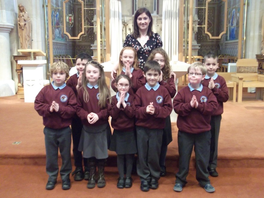 Pupils of Ballycastle integrated Primary School and Nursery made their First Confession with Fr Daly on the 21st March at St Patrick's and St Brigid's Parish Chapel.
