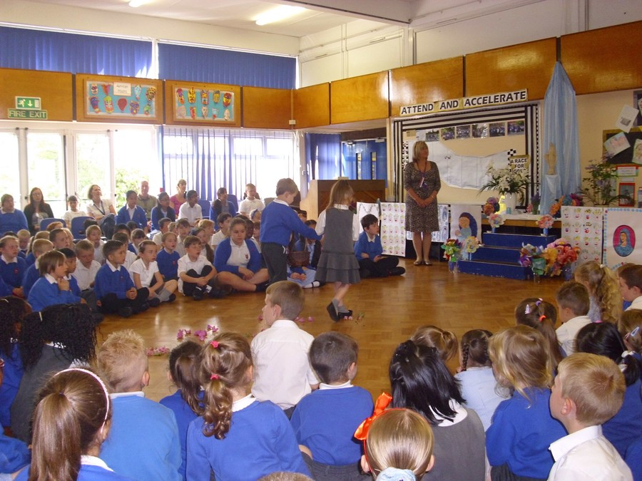 St Ambrose Catholic Primary School May Procession