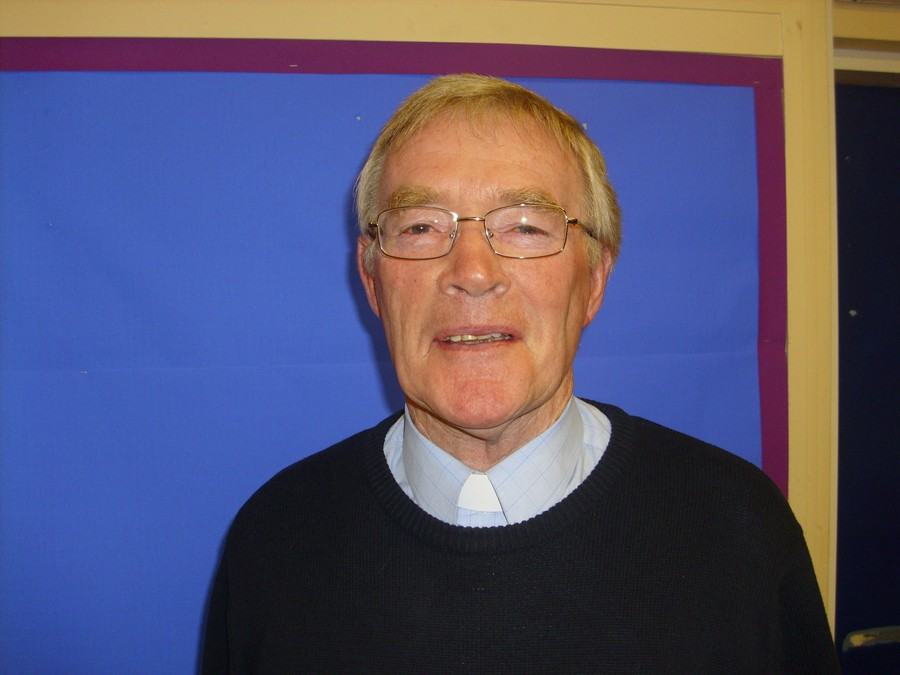 Father Geoff O'Grady. Foundation Governor
