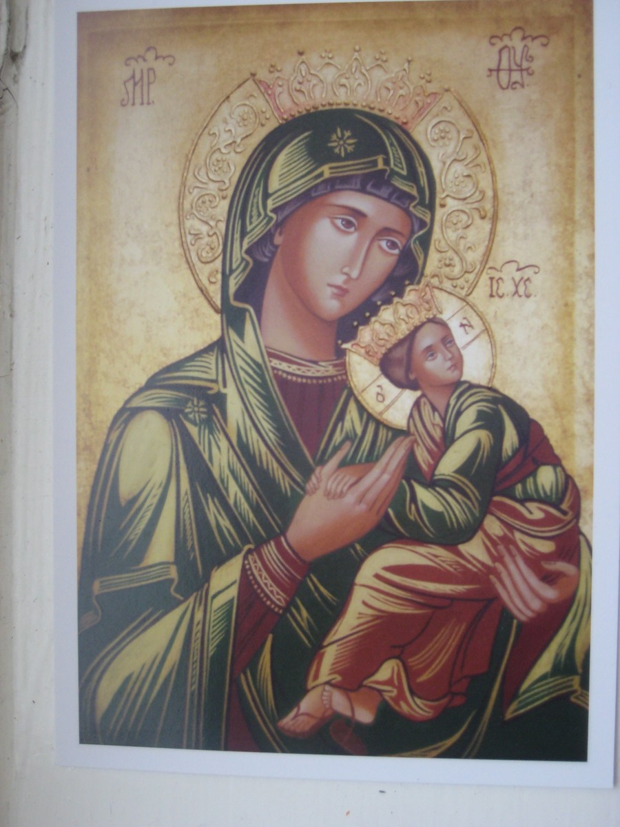 This is the Icon written for our new Parish of Our Lady of Furness