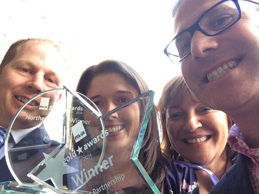 Recipients of the UK PTA Award