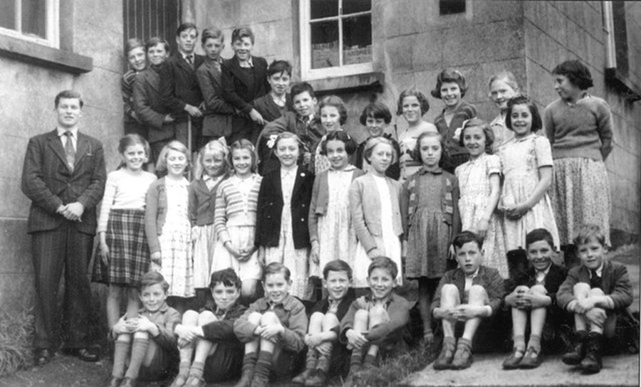 A School Group Photograph