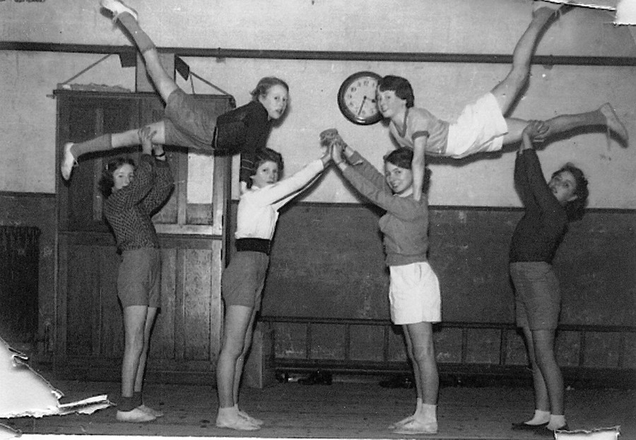 PE was called Physical Training. There was lots of manual labour to be done at the time and everyone needed to be fit and strong
